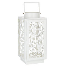Buy John Lewis Lattice Bird Lantern Online at johnlewis.com