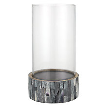 Buy John Lewis Croft Collection Mosaic Hurricane Lamp, Small Online at johnlewis.com