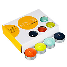 Buy House by John Lewis Tealights, Pack of 24 Online at johnlewis.com