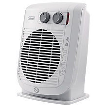 Buy De'Longhi HVF3033D Verticale Style Fan Heater Online at johnlewis.com