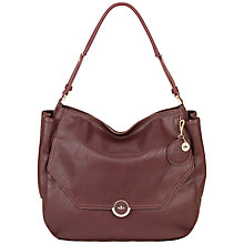 Buy Nica Rhea Scoop Shoulder Bag, Oxblood Online at johnlewis.com