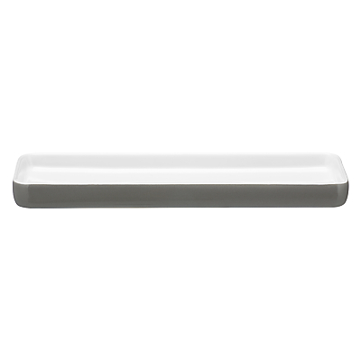 John Lewis Nordman Greys Bathroom Accessories Tray