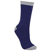 Buy John Lewis Wool and Silk Blend Ankle Socks Online at johnlewis.com