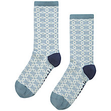 Buy Seasalt Sailor Ropework Ankle Socks, Pack of 1, Blue Online at johnlewis.com