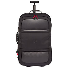 Buy Delsey Montsouris 2-Wheel 68cm Expandable Medium Suitcase, Black Online at johnlewis.com
