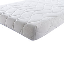 Buy Silentnight Safe Nights Comfort Baby Cotbed Mattress, 140 x 70cm Online at johnlewis.com