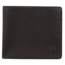 Buy Mulberry Slim Leather Card Wallet, Black Online at johnlewis.com