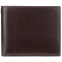 Buy John Lewis Paisley Bifold Leather Wallet, Brown Online at johnlewis.com