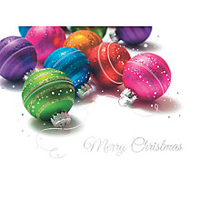 Buy CCA Colourful Ornaments Personalised Cards Online at johnlewis.com