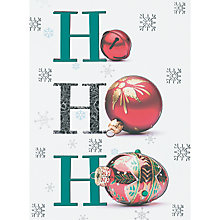 Buy CCA Jolly Baubles Personalised Cards Online at johnlewis.com