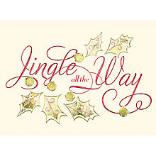 Buy CCA Jingle All The Way Personalised Cards Online at johnlewis.com