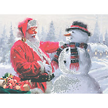 Buy CCA Santa and Snowman Personalised Cards Online at johnlewis.com
