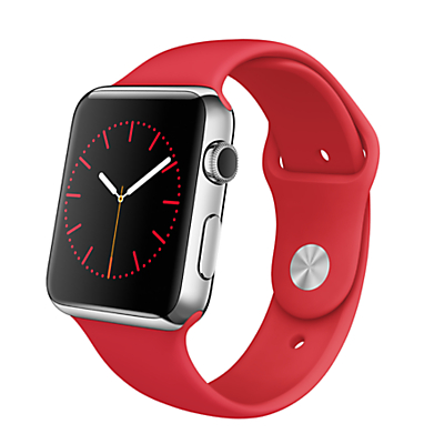Apple Watch with 42mm Stainless Steel Case & Sport Band