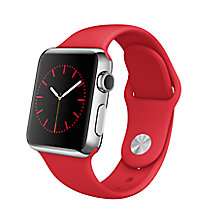 Buy Apple Watch 1st Gen with 38mm Stainless Steel Case & Sport Band Online at johnlewis.com