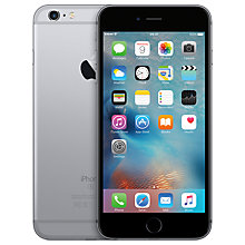 "Buy Apple iPhone 6s Plus, iOS, 5.5"", 4G LTE, SIM Free, 128GB Online at johnlewis.com"