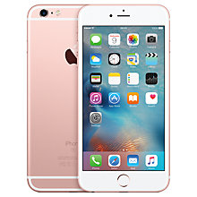 "Buy Apple iPhone 6s Plus, iOS, 5.5"", 4G LTE, SIM Free, 64GB Online at johnlewis.com"