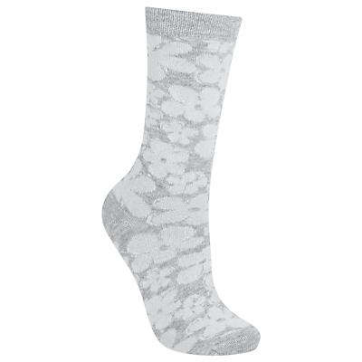 John Lewis Big Flower Socks