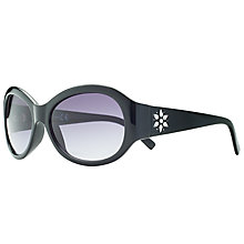 Buy John Lewis Diamante Detail Gradient Oval Sunglasses Online at johnlewis.com
