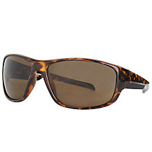Buy John Lewis Sports Wrap Sunglasses, Tortoise Online at johnlewis.com