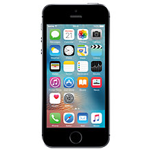 "Buy Apple iPhone SE, iOS, 4"", 4G LTE, SIM Free, 64GB Online at johnlewis.com"