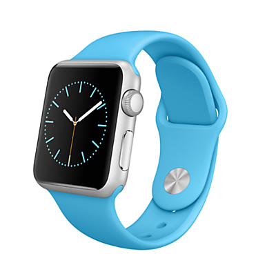 Apple Watch Sport with 38mm Silver Aluminium Case & Sport Band