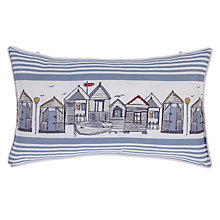 Buy John Lewis Coastal Beach Huts Bath Pillow Online at johnlewis.com