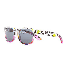 Buy John Lewis Animal Print Sunglasses, Multi Online at johnlewis.com