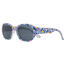 Buy John Lewis Ditsy Sunglasses, Pink/Turquoise Online at johnlewis.com