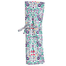 Buy John Lewis Daisy Chain Print Knit Roll, Purple Online at johnlewis.com