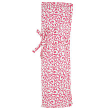 Buy John Lewis Robin Print Knit Roll, Pink Online at johnlewis.com