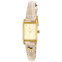 Buy Radley Women's Hyde Park Leather Strap Watch Online at johnlewis.com