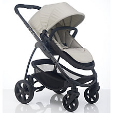 Buy iCandy Strawberry 2 Pushchair with Black Chassis, Carrycot & Dune Fabrics Online at johnlewis.com