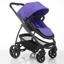 Buy iCandy Strawberry 2 Pushchair with Black Chassis, Carrycot & Prism Fabrics Online at johnlewis.com
