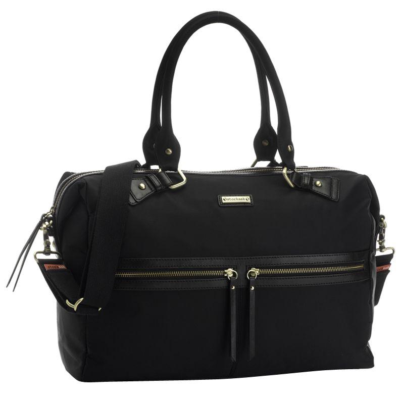 Storksak Storksak Caroline Nylon Baby Changing Bag, Black