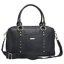 Buy Storksak Elizabeth Changing Bag, Black Online at johnlewis.com