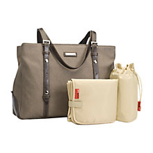 Buy Storksak Gigi Baby Changing Bag, Glimmer Online at johnlewis.com