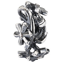 Buy Trollbeads Sterling Silver Diamond Strand of Lights Bead Charm, Silver Online at johnlewis.com