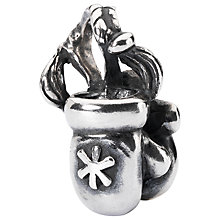 Buy Trollbeads Sterling Silver Mittens Bead, Silver Online at johnlewis.com