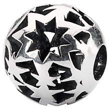 Buy Trollbeads Sterling Silver Fireworks Bead, Silver Online at johnlewis.com