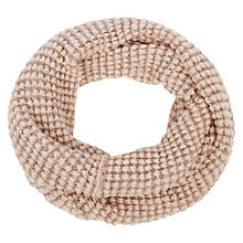 Buy Oasis Rosie Sequin Snood, Neutral Online at johnlewis.com