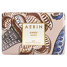 Buy AERIN Amber Musk Soap, 176g Online at johnlewis.com