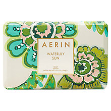 Buy AERIN Waterlily Sun Soap, 176g Online at johnlewis.com