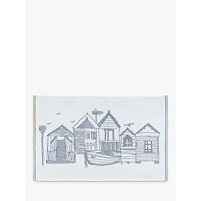 John Lewis Beach Huts Terry Bath Mat