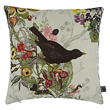 Buy Timorous Beasties for John Lewis Blackbird Cushion Online at johnlewis.com