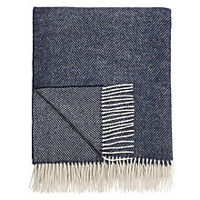 Buy Bronte by Moon Herringbone Throw Online at johnlewis.com