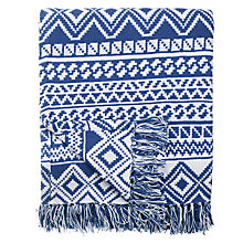 Buy John Lewis Diamond Shadow Throw Online at johnlewis.com