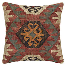 Buy John Lewis Kelim Motif Cushion, Multi Online at johnlewis.com