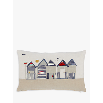 John Lewis Beach Huts Cushion