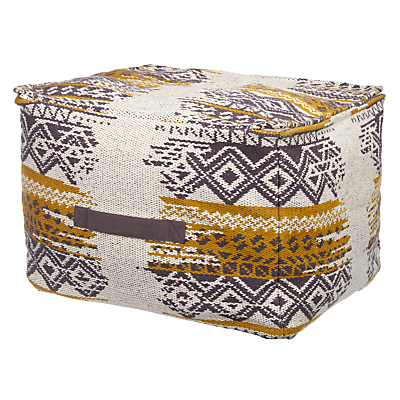 John Lewis Diamond Shadow Pouffe