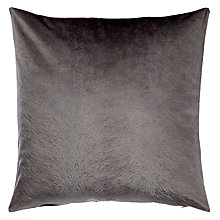 Buy John Lewis Cavendish Cushion, Blue Grey Online at johnlewis.com